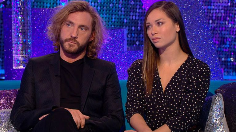 Strictly's Seann Walsh responds to his ex-girlfriend's
