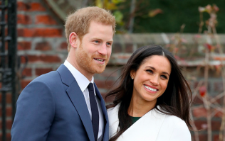 A new 'never-before-seen' photo of Meghan and Harry has been released