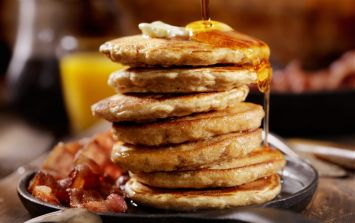 These banana bread pancakes are just what your Saturday morning needs