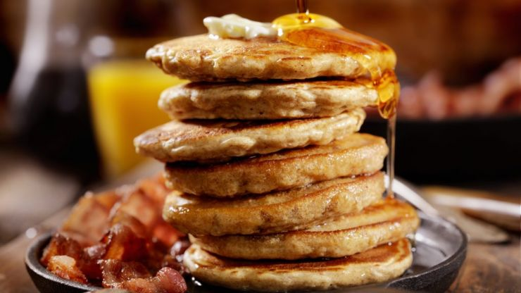 It's Pancake Tuesday, and we suggest you try these Nutella-stuffed banana pancakes