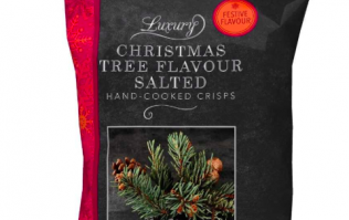 Christmas tree flavoured crisps will be a thing soon and we are very intrigued, indeed