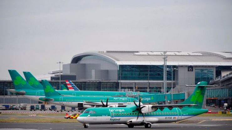 Aer Lingus cancels a number of flights due to Storm Callum