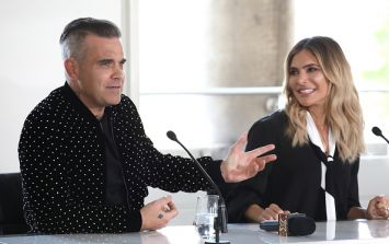 Ouch! People are slamming Ayda Field for wearing white to the royal wedding