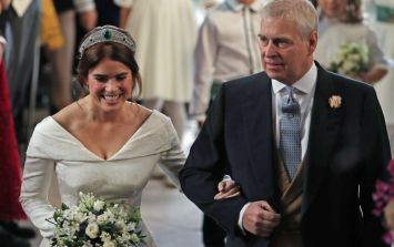 Prince Andrew 'broke royal protocol' during speech at Princess Eugenie's wedding reception