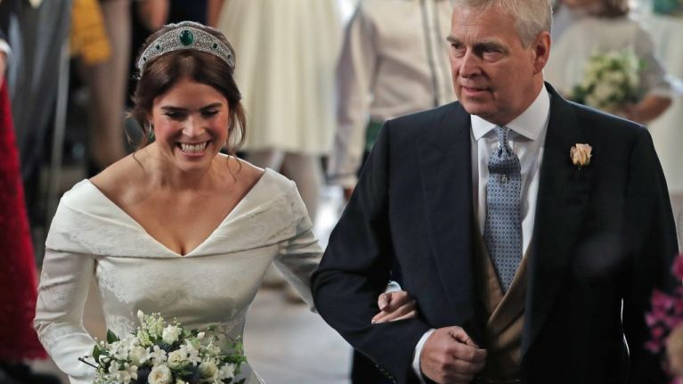 Prince Andrew Broke Royal Protocol During Speech At Princess