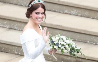 Breaking tradition: Princess Eugenie's second wedding dress is NOT what we expected