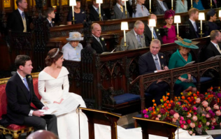 The reason why there was an empty seat at Princess Eugenie's wedding