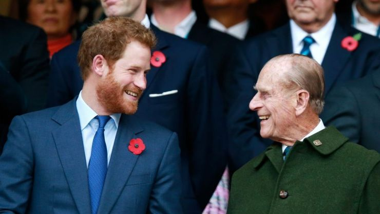Prince Harry is the spitting IMAGE of Prince Philip in this major throwback picture