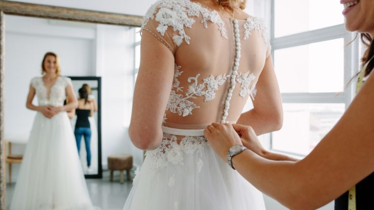 This is the number one thing grooms want in a wedding dress
