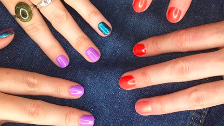 A Dublin nail bar just shared the most terrifying Halloween gel nails and absolutely, no thanks
