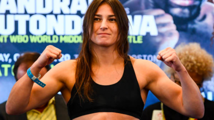 Katie Taylor successfully defends world titles against Cindy Serrano