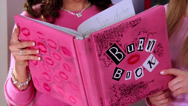 A Mean Girls inspired 'burn-cookbook' exists, and we're hungry for it