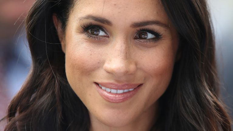 Meghan Markle just stepped out in her most colourful outfit yet and WOW