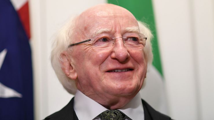 Michael D. Higgins' yoga teacher is giving a online class with all proceeds going to Childline