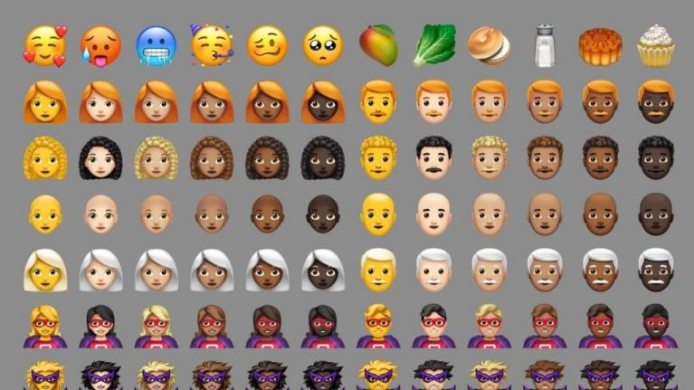 Here's all the new emojis you can get on the latest iOS update