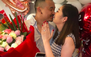 The Internet is HOWLING laughing at this woman modelling her cousin's engagement ring