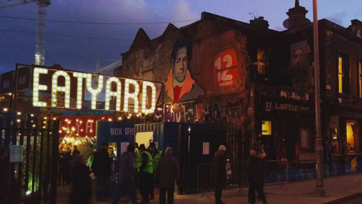 Eatyard is reopening SO soon - and with a Christmassy makeover