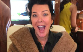 This Irish blogger photobombed Kris Jenner last night and the pic is absolutely GAS