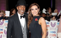 Things are getting heated between Strictly's Danny John-Jules and partner Amy