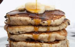 These banana bread pancakes are just what your bank holiday weekend needs