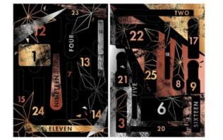Details of the Sleek Advent calendar are here, and WOWZA, we need it