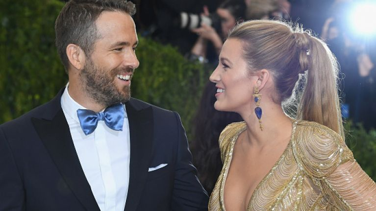 Ryan Reynolds jokingly accuses Blake Lively of cheating on him...with a ghost