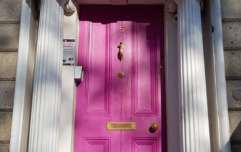A photo of this pink doorway in Dublin is going viral for a very important reason