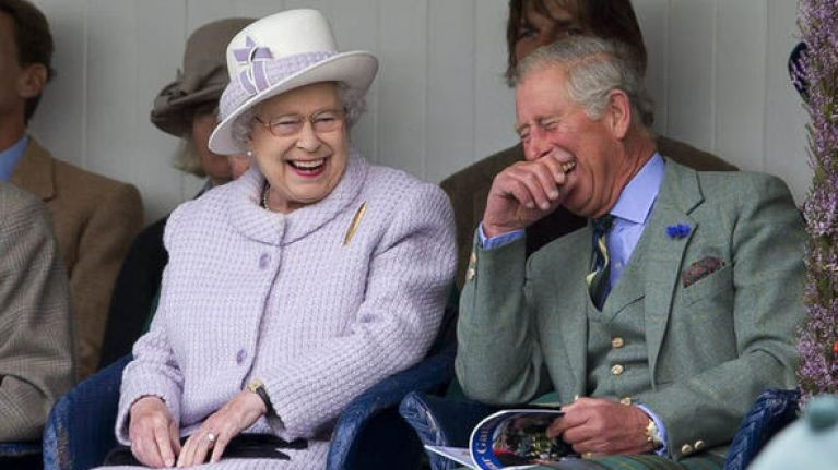 Queen Elizabeth made the sweetest joke in her speech at Charles