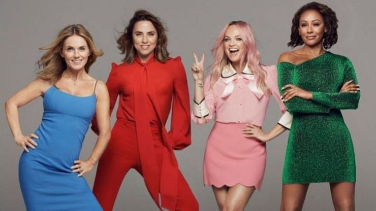 STOP! The Spice Girls just announced that they're coming to CROKE PARK