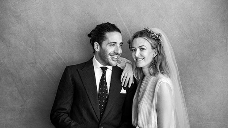 The daughter of the billionaire founder of Zara just got married, and OMG THE DRESS