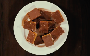 The sticky millionaire's shortbread recipe that is also pretty good for you
