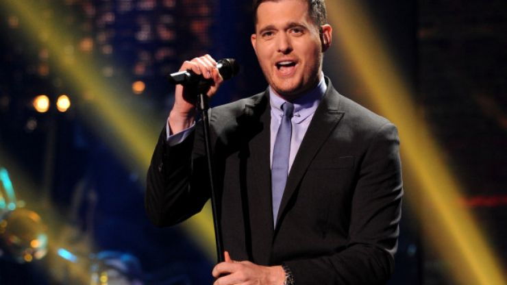 Michael Bublé has just announced two HUGE Irish concerts