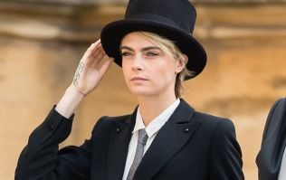 Cara Delevingne texted Princess Eugenie about her outfit before the wedding and this was the royal reply
