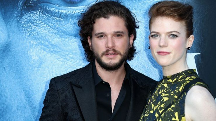 Rose Leslie and Kit Harington share baby news with super cute photo