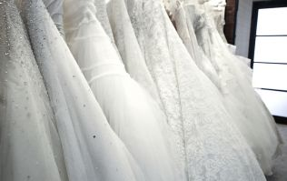 The breathtaking wedding dress trend you're going to see a lot of next year