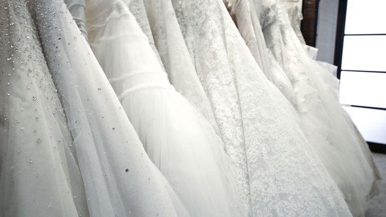 This bride's IKEA wedding dress hack is a little bit strange (but totally genius)