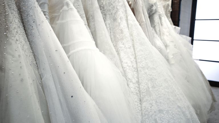 The beautiful wedding dress trend you're going to see a lot of in 2020