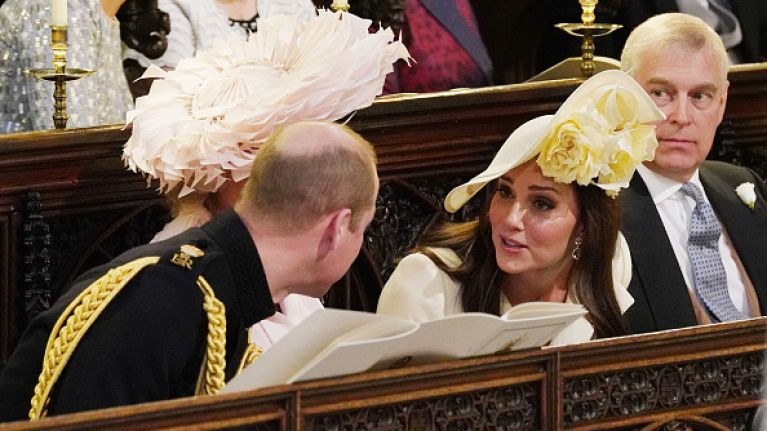 Kate Middleton was 'in tears' during the run up to Meghan and Harry's wedding