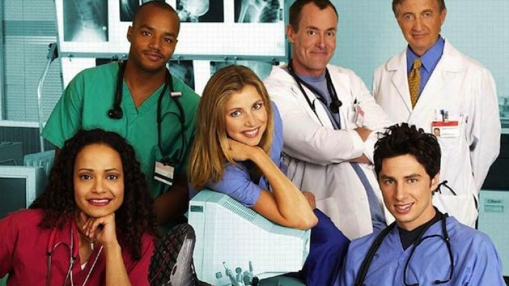 ALL of the original Scrubs cast hung out together and the pictures are just magic