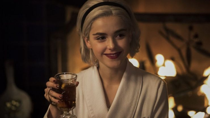 Kiernan Shipka has teased a Chilling Adventures of Sabrina crossover with Riverdale