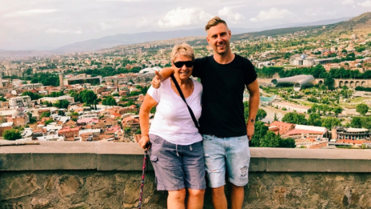 69-year-old Irish woman with Parkinson's to climb Mount Fuji with her son
