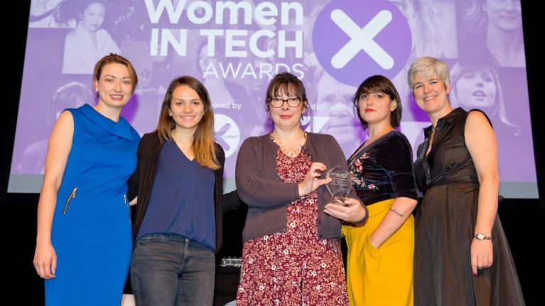 The winners of the first annual Women in Tech Awards have been announced