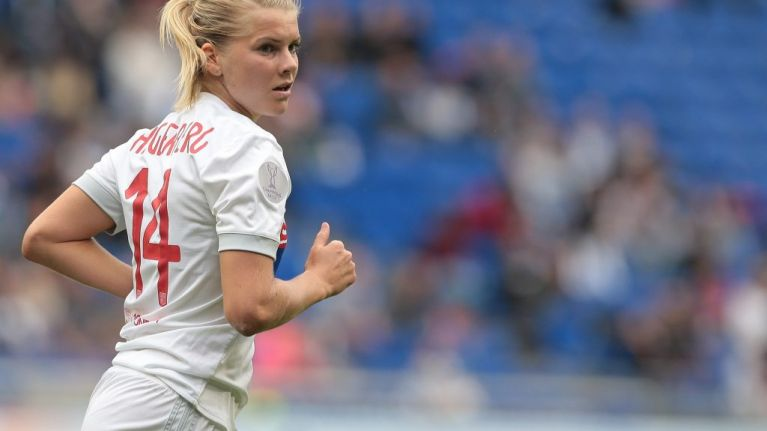 Ada Hegerberg, the first woman to win the Ballon D'Or, was asked to 'twerk' on stage