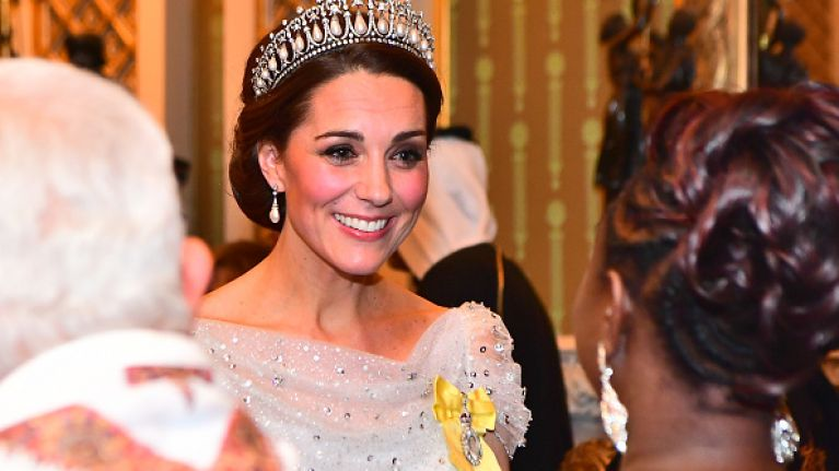 Kate Middleton made the most beautiful tribute to the late Princess Diana last night