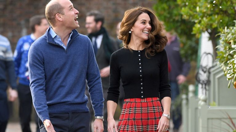 You can buy a dupe of Kate Middleton's skirt for only €40 in H&M
