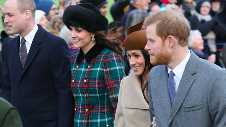 Everyone missed the MAJOR clue that hinted at the feud between Kate and Meghan