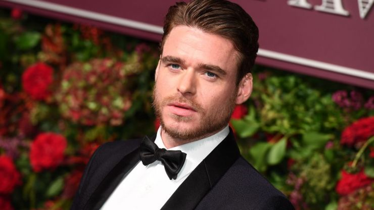 Richard Madden avoids answering question about his relationship with Brandon Flynn