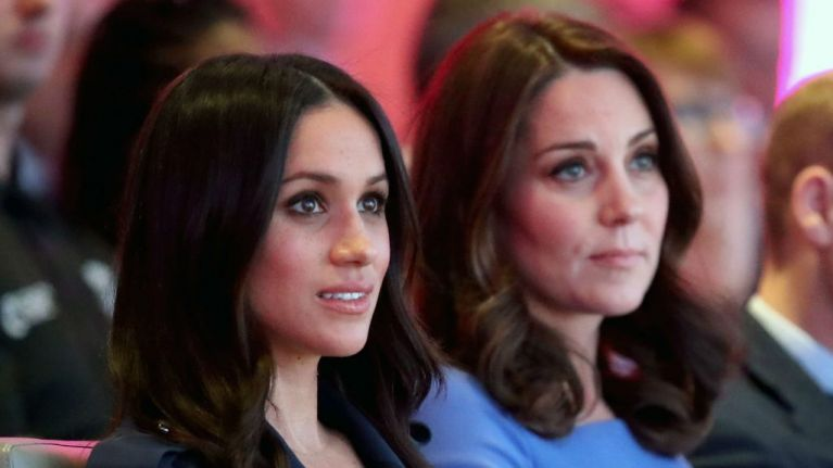 Buckingham Palace release simple statement about Meghan and Kate