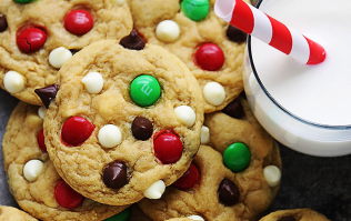 These Santa cookies are the perfect December weekend baking project
