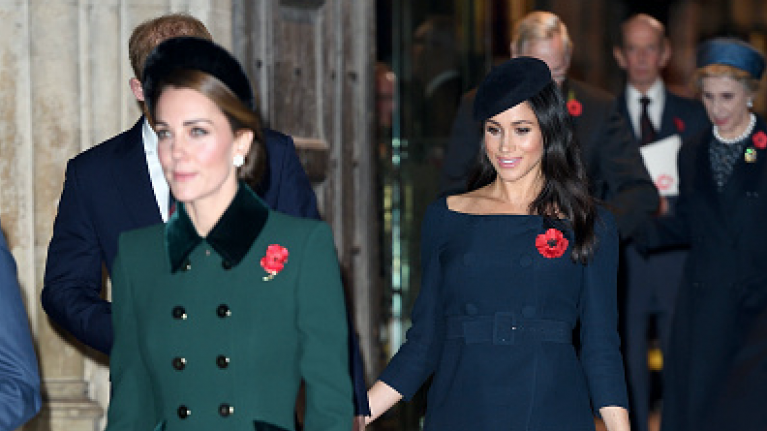 'Trying to find their feet': There's a new development in the Kate and Meghan feud narrative